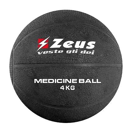 Zeus, Balón medicinal 1-2-3-4-5 kg para gimnasio, entrenamiento ...