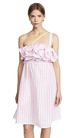 Marianna Senchina Women S Ruffle Seersucker Dress At Amazon Women S