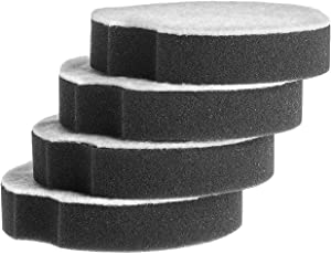 Laukowind 4 Pack Replacement Filter Compatible with Bissell PowerForce Compact Lightweight Upright Filter Vacuum Cleaner 1520 2112 Series. Compare to Part #1604896/160-4896