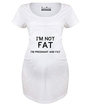 SuperPrise - Camiseta de Manga Corta para Embarazo, Maternidad o ...