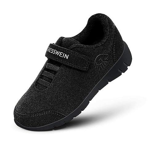 newest 5ec6d 9349a Giesswein Merino Wool Runners Kids - Atmungsaktive Schuhe für Jungen &  Mädchen aus 100% Merino Wolle, Sportliche Schuhe für Jungs & Mädls,  Halbschuh, ...