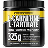 PrimaForce L-Carnitine L-Tartrate Powder Supplement, 325 Grams - Enhances Workout Performance / Promotes Fat Burning / Speeds Workout Recovery