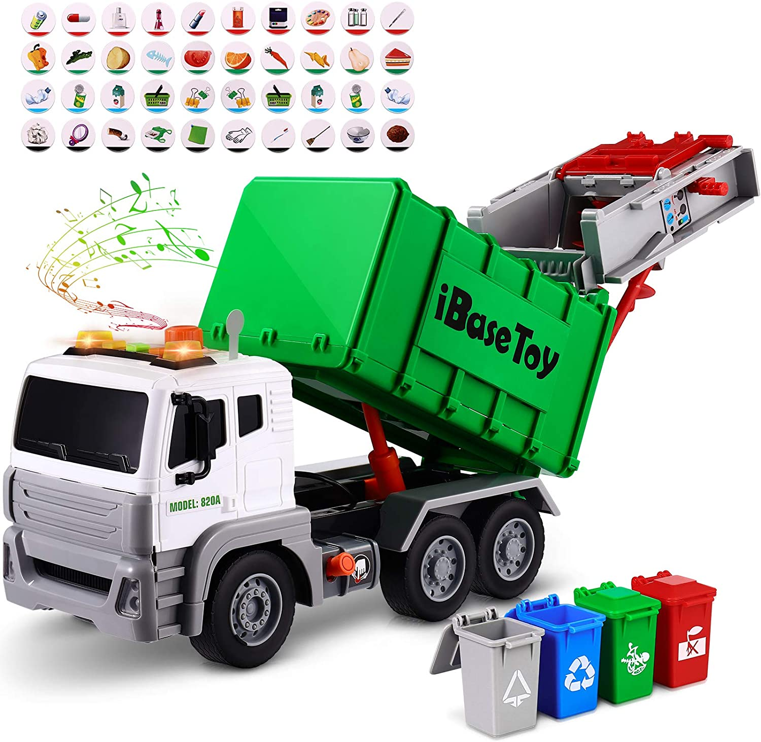 Garbage Truck Toys for Boys