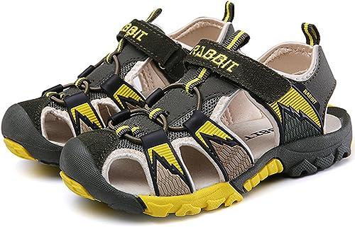 Littleplum Kids Sandals Summer Closed-Toe Beach Outdoor Sport Water Sandals for Boys Girls Quick-Drying Upper Mesh Toddler//Little Kid//Big Kid