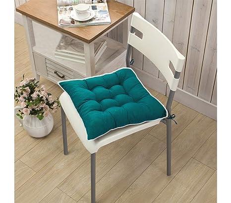 Set 4 cuscini per sedia modello Lorelai 40x40cm di colore verde ...