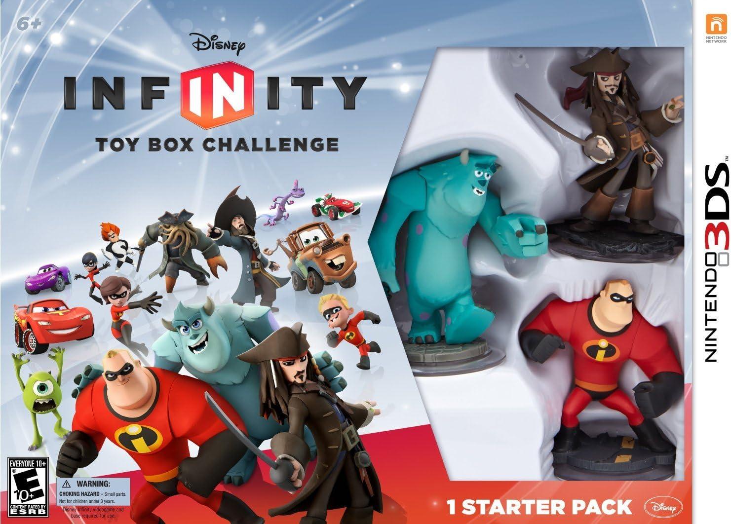 Disney Infinity 1.0 Starter Pack Playset Web Code Card