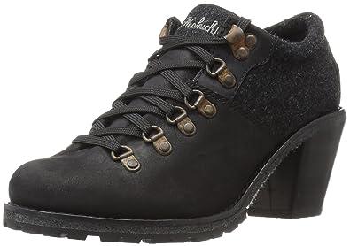 Woolrich Women's Cascade Range Ankle Bootie, Black, ...