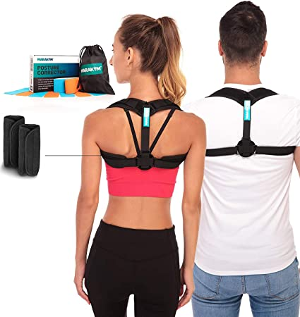 back facing marakym adjustable clavicle brace