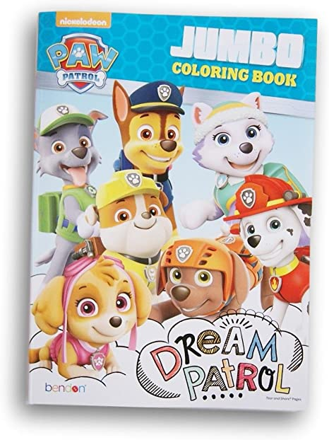 - Amazon.com: Paw Patrol Dream Patrol Coloring And Activity Book - 96 Pages:  Toys & Games