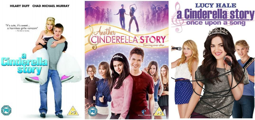 A Cinderella Story If The Shoe Fits Dvd Australia A Cinderella Story Complete Trilogy 3 Disc Dvd Collection 1 Cinderella Story 2 Another Cinderella Story 3 Once Upon A Song Amazon Co Uk Dvd Blu Ray