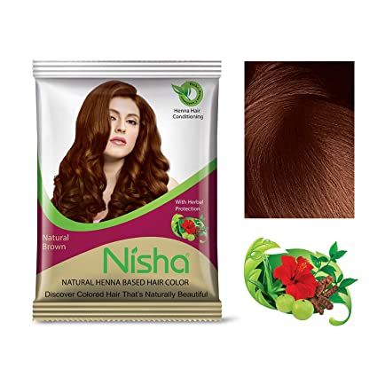 Buy Nisha Henna Based Hair Color 15g Each Packet Made From 100