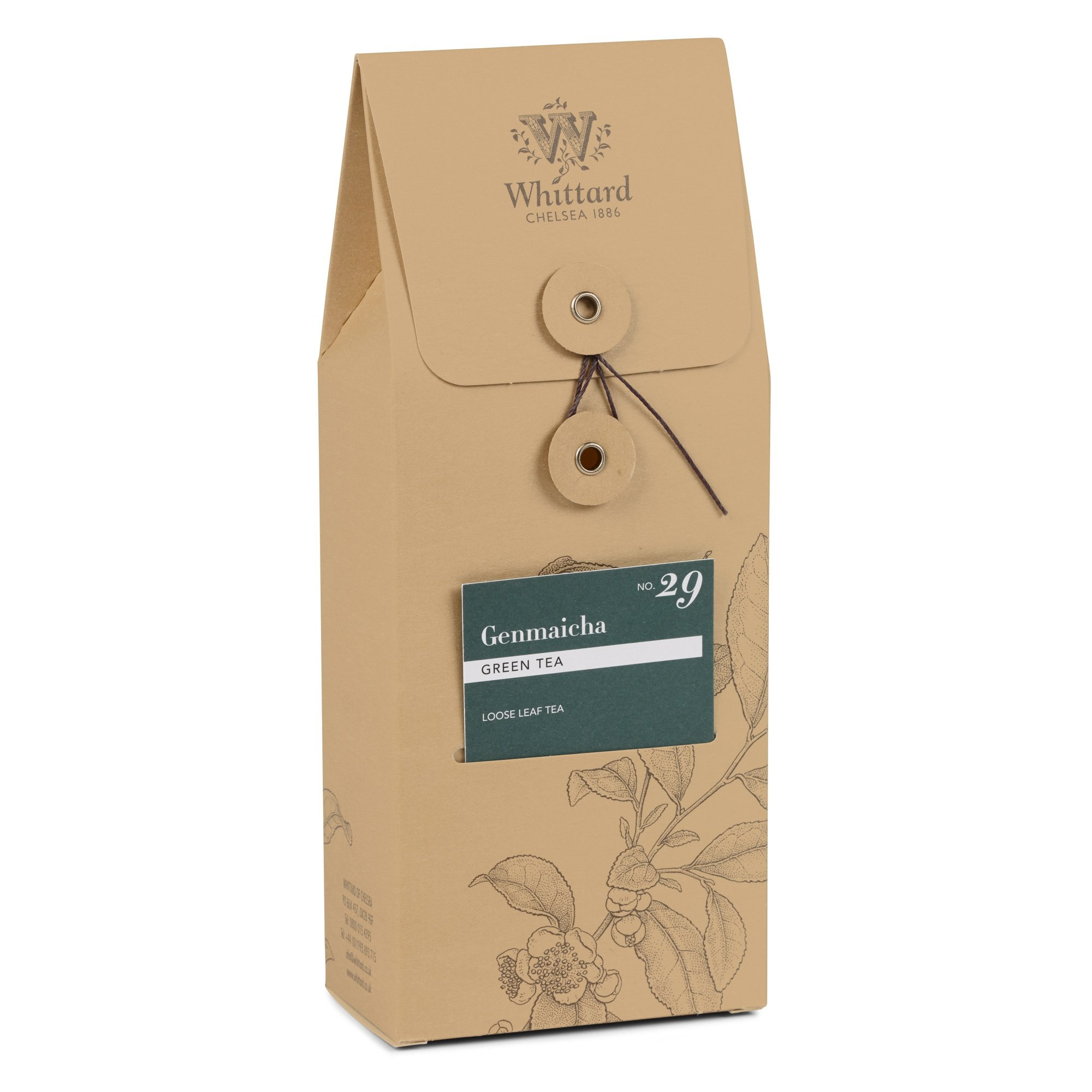 Whittard Tea Genmaicha Loose Leaf 50g by Whittard