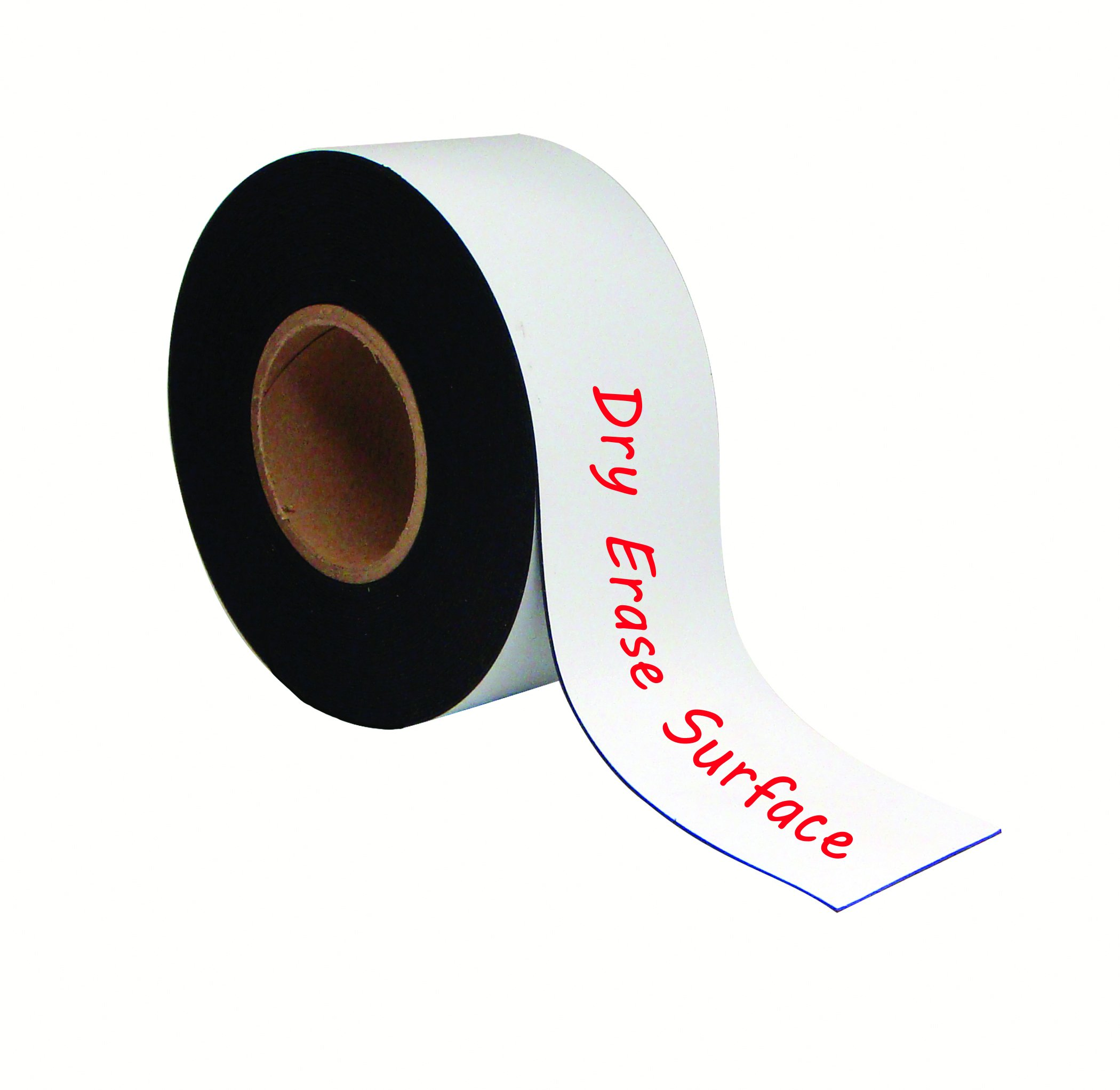 MasterVision Tape Roll Magnetic Dry Erase , 3'' x 50' White