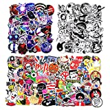 zheyistep Car Sticker for Laptop Motorcycle Luggage Vinyl Graffiti Bomb Decal Bumper Skateboards Snowboard Awesome Travel Stickers Pack (200 Pcs Cool)