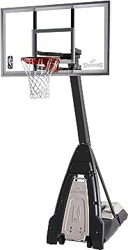 Spalding The Beast Glass Portable Basketball Hoop