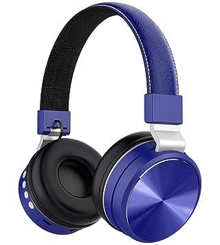 XIYANG Auriculares, cancelación de Ruido Auriculares inalámbricos inalámbricos Bluetooth 6 Horas de reproducción Controles Dobles