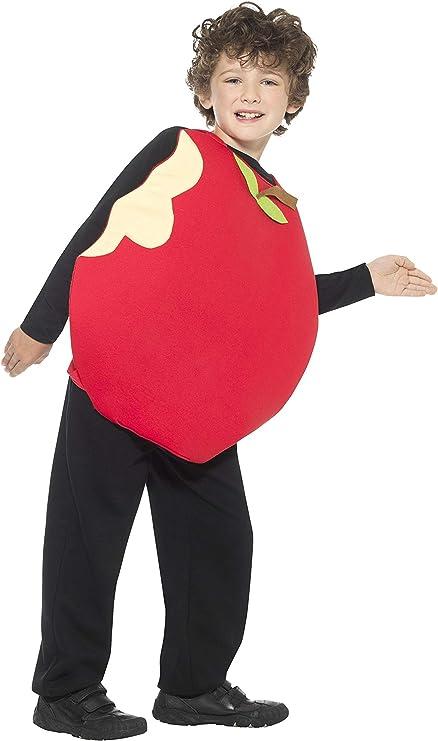 Smiffys-43141 Disfraz de Manzana, con Tabardo, Color Rojo, Tamaño ...