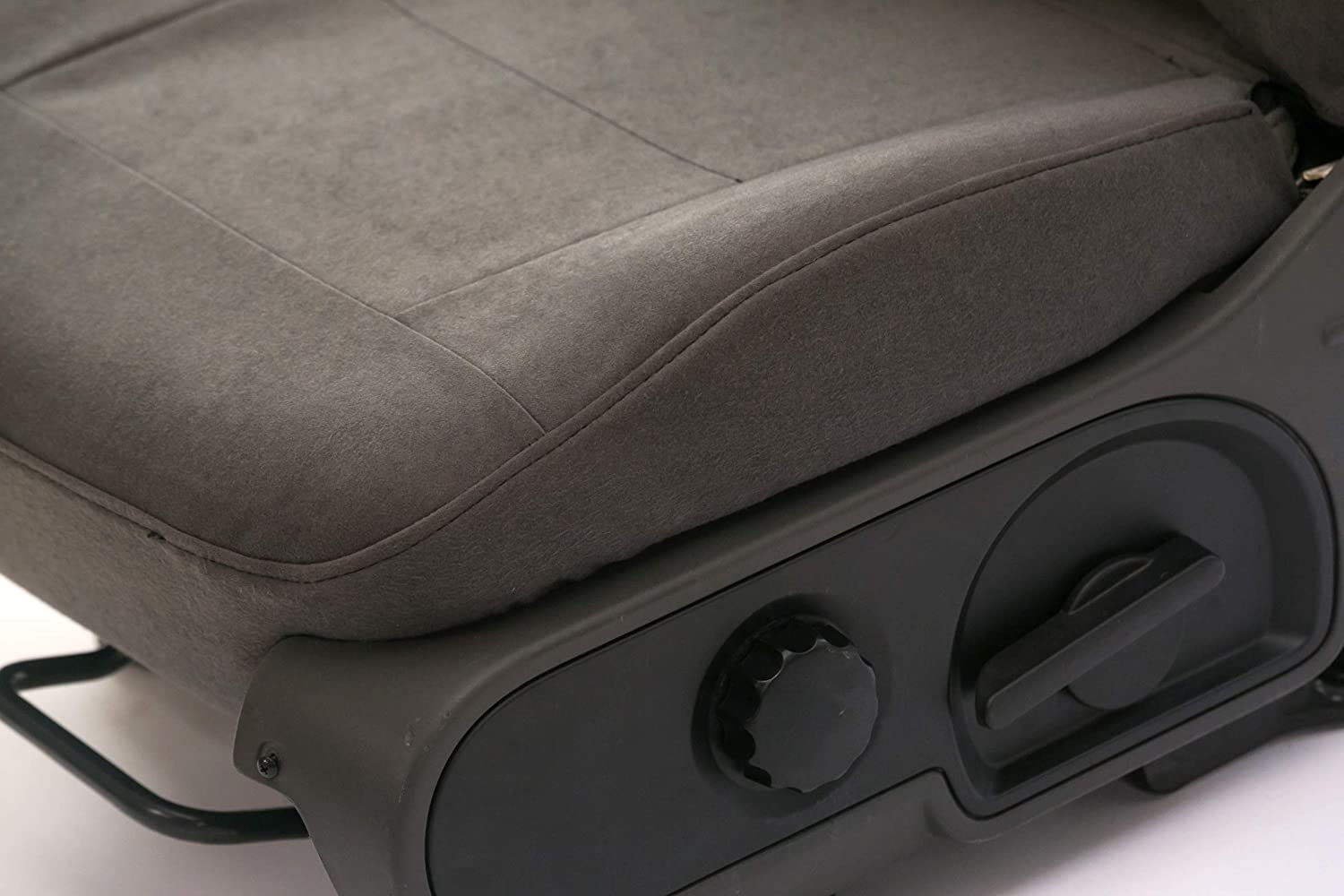 Saddleman S 219911-14 Gray Custom Made Front Low Back Bucket with Inside armrest Seat Covers