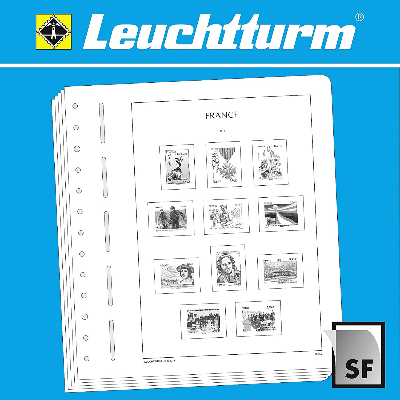 Leuchtturm1917 LIGHTHOUSE Illustrated album pages France 2015-2017