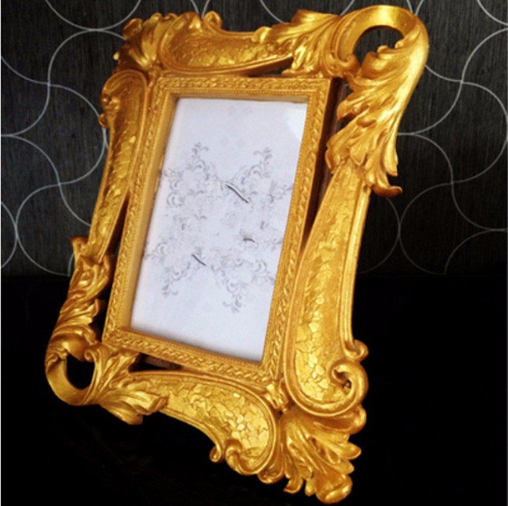 ZMINGM Frame Continental Foto Rahmen s Prägen Grand Square Tabelle 6 ...