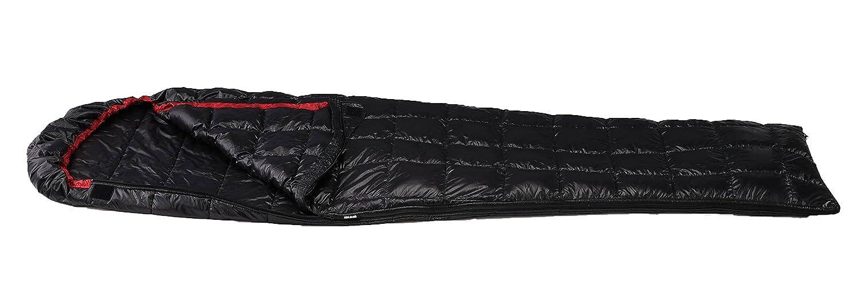 イスカ(ISUKA) 寝袋 ピルグリム 150 ブラック [最低使用温度10度] B00UL85GWI