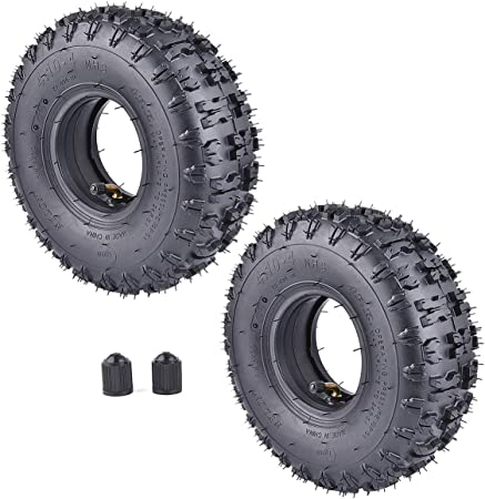 Amazon.com: 2 unidades de 4.10-4 410-4 4.10/3.50-4 tubos ...