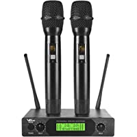 VeGue UHF Wireless Professional Dual Channel Handheld Mics