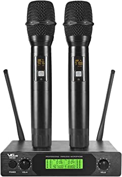 VeGue UHF Wireless Professional Dual Channel Handheld Mics