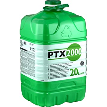 PTX 2000 Petróleo, 20 litros Bidón para horno de petróleo, inodoro, schwefelfrei.