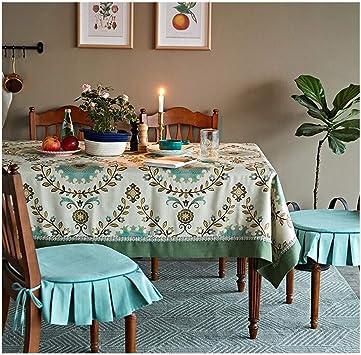 ACZZ Manteles Tejidos Mantel nórdico Mesa de centro Cojín Jardín Decoración del hogar,A,1.4m*2m: Amazon.es: Bricolaje y herramientas