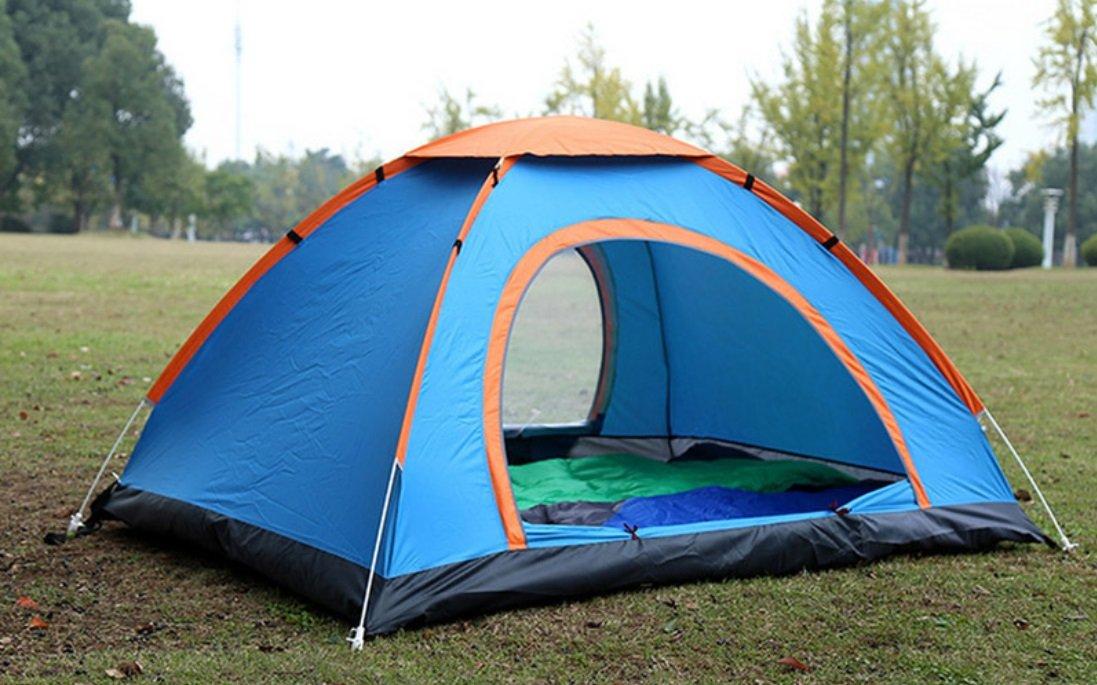Outdoor-Automatik-Zelt 2 Personen 3-4 Personen Freie Build-Geschwindigkeit Öffnen Camping Regen Werfen Zelt Runde ZXCV