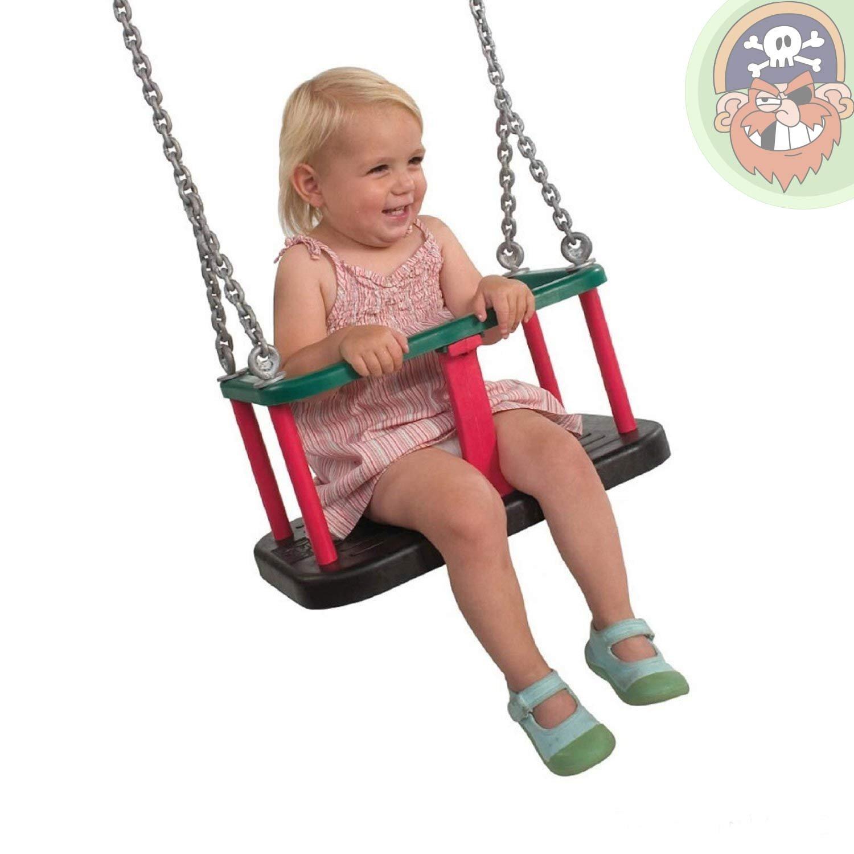 Baby Schaukelsitz mit verzinkter Kette Babyschaukel öffentlich von Gartenpirat®