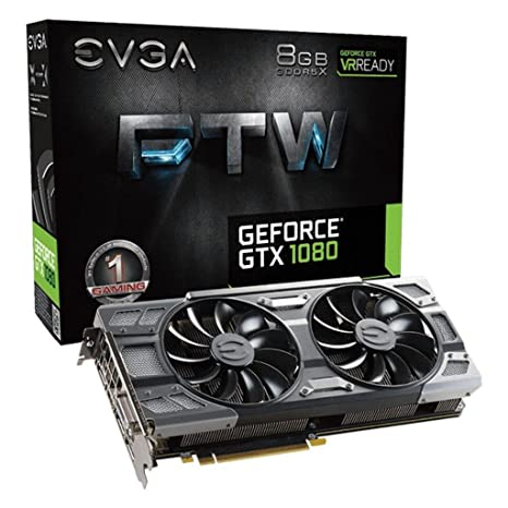 EVGA Tarjeta gráfica GeForce GTX 1080 FTW Gaming: Evga ...