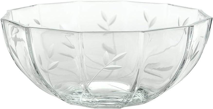 Cristal de Sèvres Decameron Centro de Mesa, Cristal, 27x27x12 cm ...