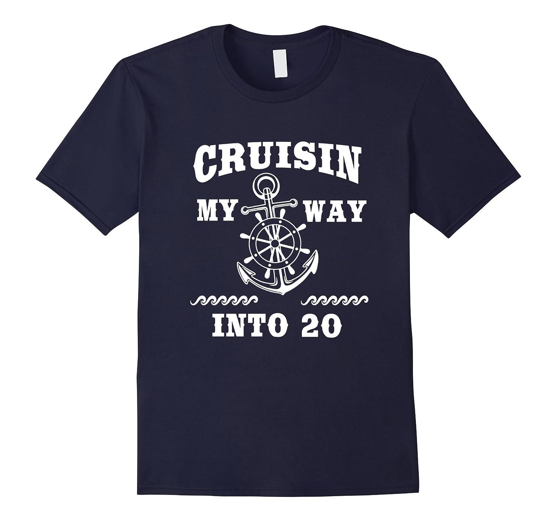 Funny 20th Birthday Shirt Cruisin my way into 20 B-day Gift-PL