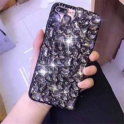 Amazon.com: 3d hecho a mano de lujo bling sparkle Crystal ...