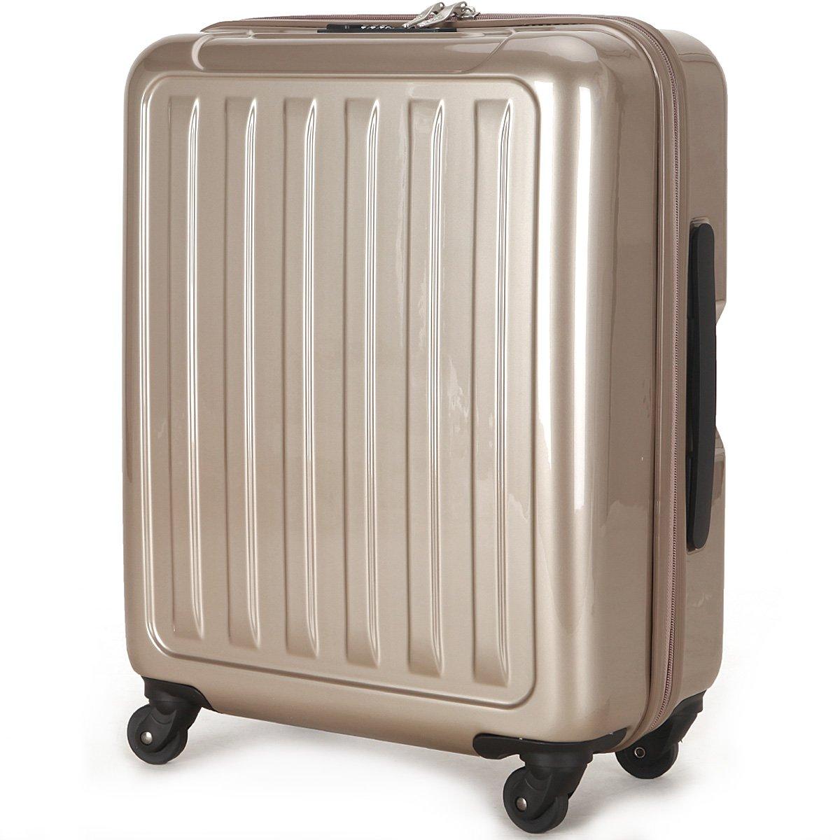 (ラッキーパンダ) Luckypanda 一年修理保証付 TY8048 スーツケース 機内持込 超軽量 40l 大容量 tsaロック B00YBV100I シャンパンゴールド シャンパンゴールド