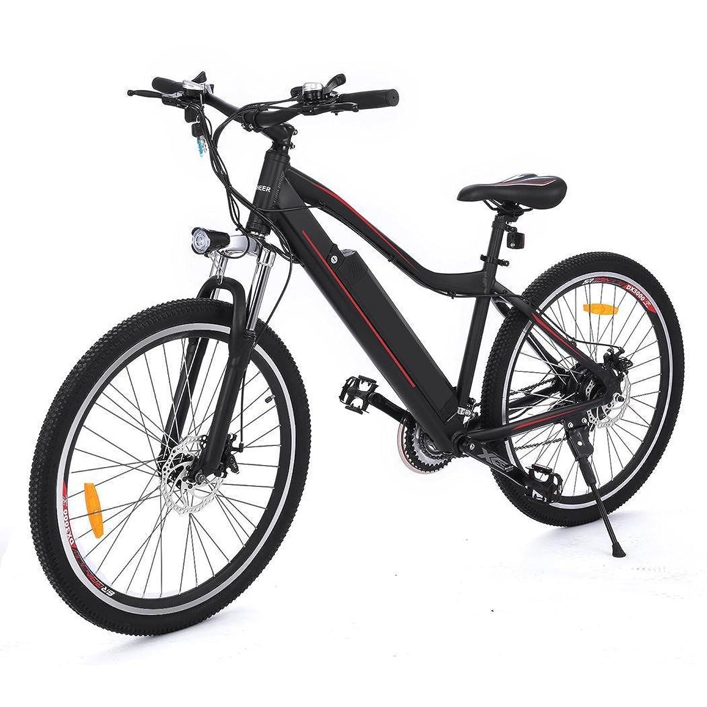 aceshin Bicicleta Eléctrica de Montaña Shimano velocidad Aluminio Batería de Litio V