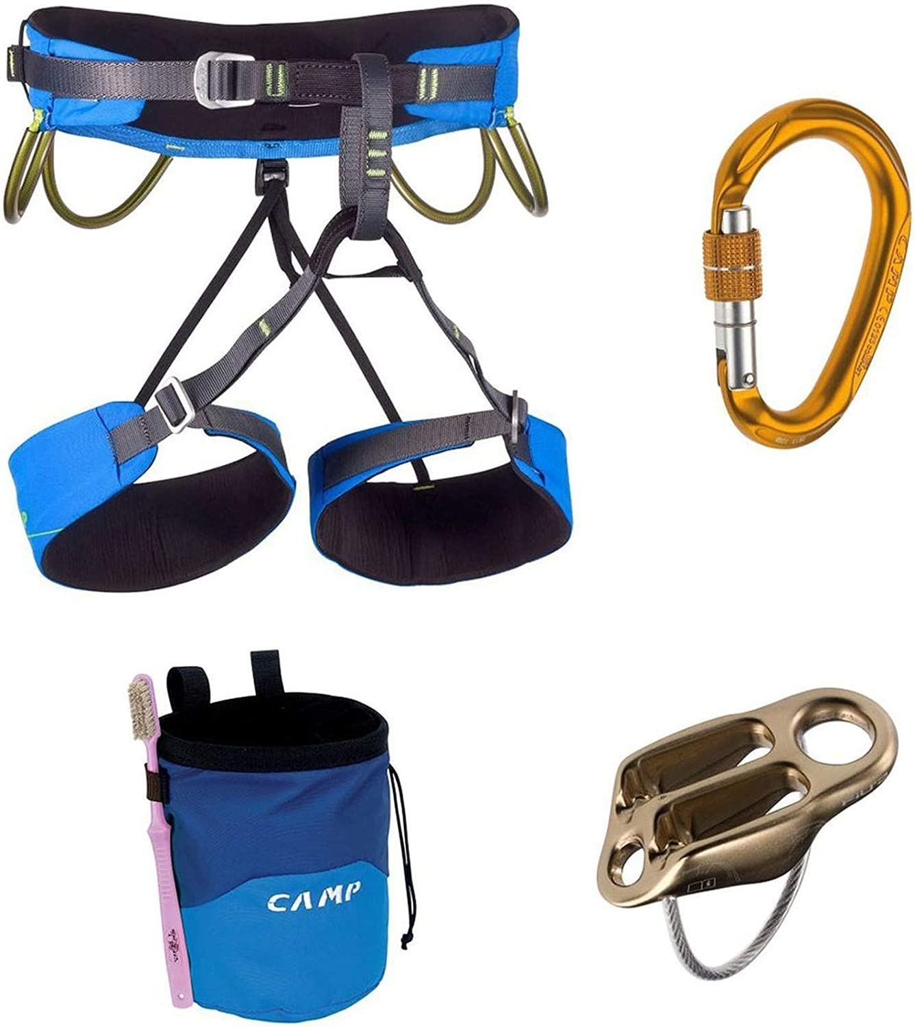 Camp USA Energy Harness Pack Blue Large