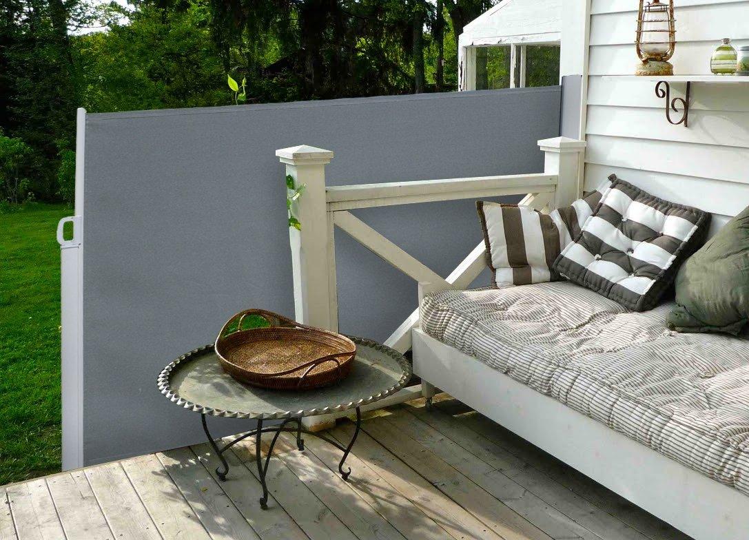 beste von seitenmarkise balkon ohne bohren einzigartige ideen zum sichtschutz. Black Bedroom Furniture Sets. Home Design Ideas