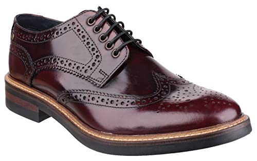 eee09dc0e0833 Base London Woburn Hi - Shine Lace Mens Shoes: Amazon.co.uk: Shoes ...