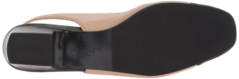 Trotters Women's DEA Ballet Flat B073BZ1YDT 8.5 B(M) US|Nude/Black