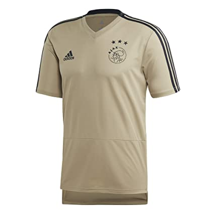 3e9829de19a Amazon.com : adidas 2018-2019 Ajax Training Football Soccer T-Shirt ...