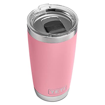 30fea2fc0f5 YETI Rambler 20 oz Stainless Steel Vacuum Insulated Tumbler w/MagSlider  Lid, Pink