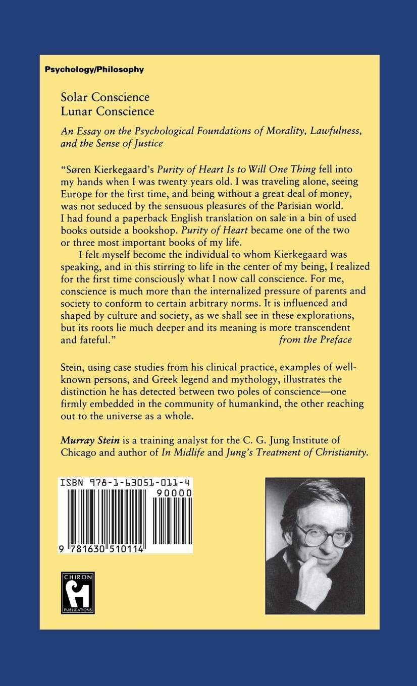 amazoncom solar conscience lunar conscience an essay on the  amazoncom solar conscience lunar conscience an essay on the  psychological foundations of morality lawfulness and the sense of justice