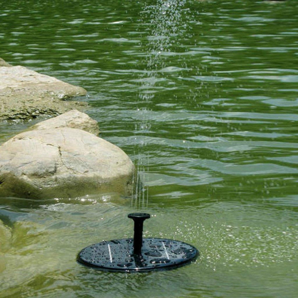 Quadrato KESOTO Pannello Solare Con Pompa Ad Acqua Fontana Per Arredo Giardino Laghetto Museo