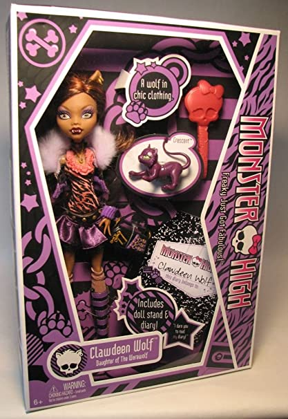 Amazon Com Monster High Clawdeen Wolf Doll Toys Games