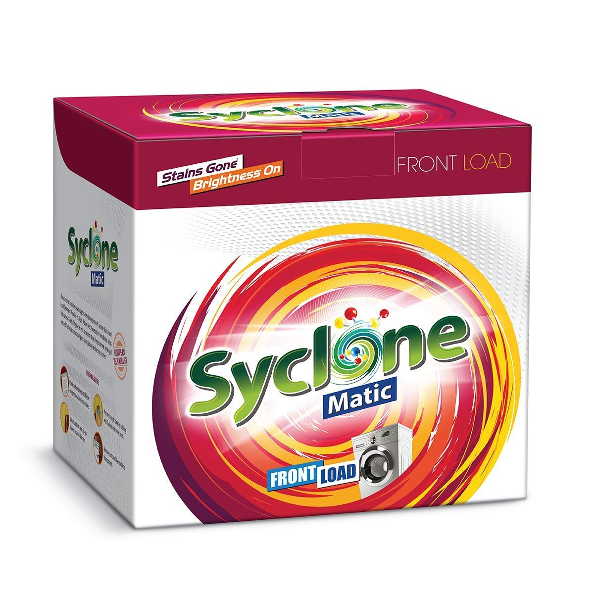 Syclone Matic Front Load Detergent Powder – 6 Kg