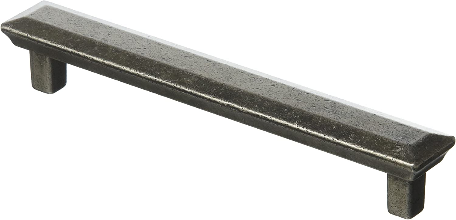Grange Pewter Pull Backplate Included 64MM