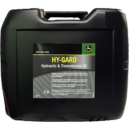 20 litros John Deere HY-Gard hidráulico - y de transmisión (UTTO)